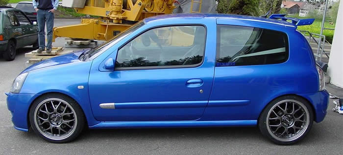 Renault Clio Williams Sport Auto Tuning